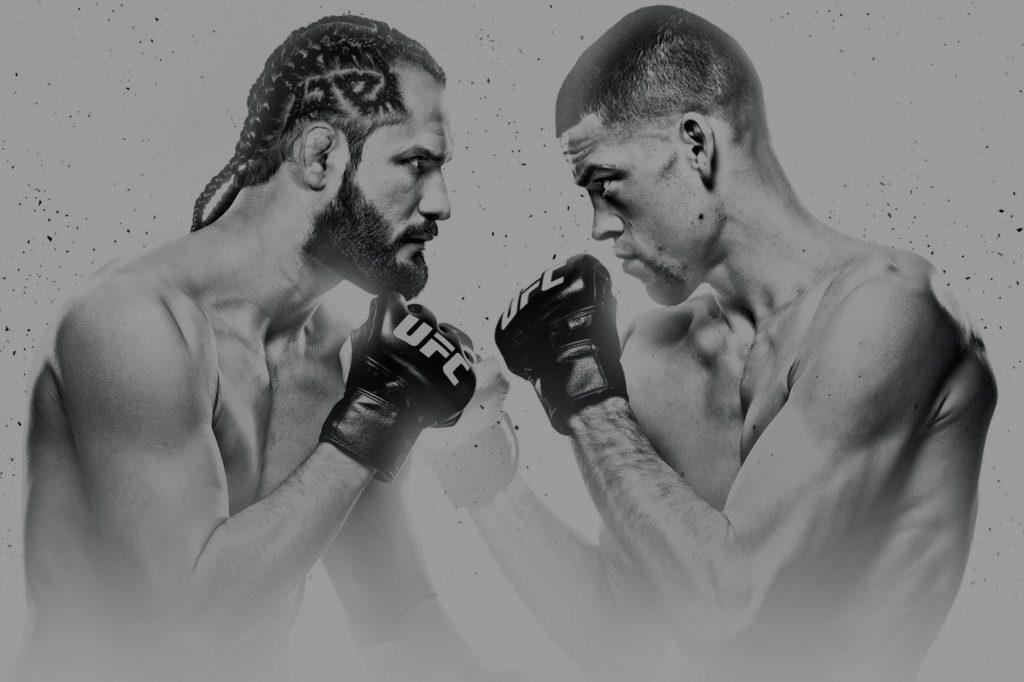 Nate Diaz vs. Jorge Masvidal Has No Underdogs for UFC 244