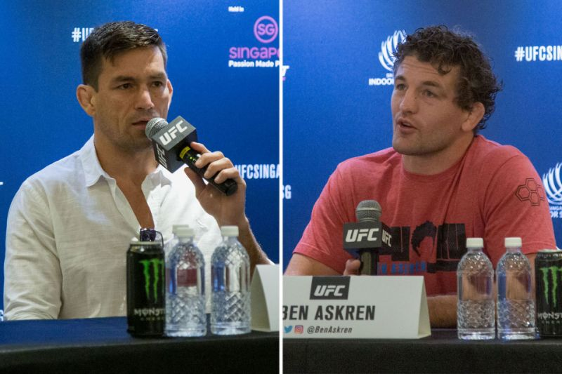 UFC Fight Night Singapore - Who is the favorite between Askren and Maia?