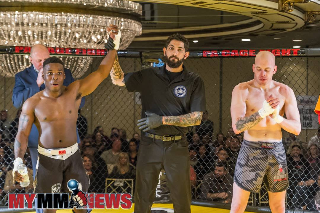 Justin Carter defeats Josh Jones at PA Cage Fight 35 - Photo by William McKee