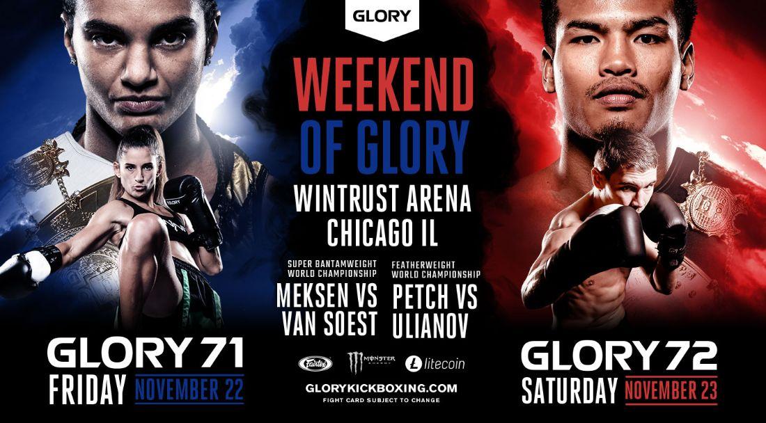 GLORY 71 and GLORY 72
