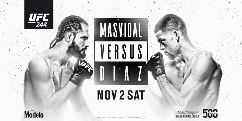 UFC 244 results - Diaz vs. Masvidal for BMF title