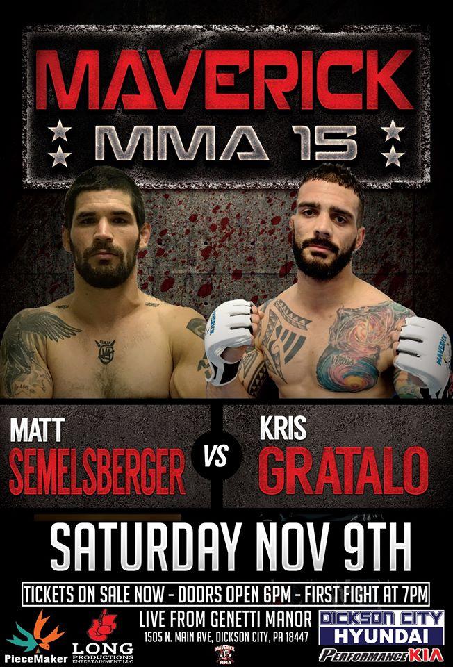 Maverick 15 results - Gratalo vs. Semelsberger