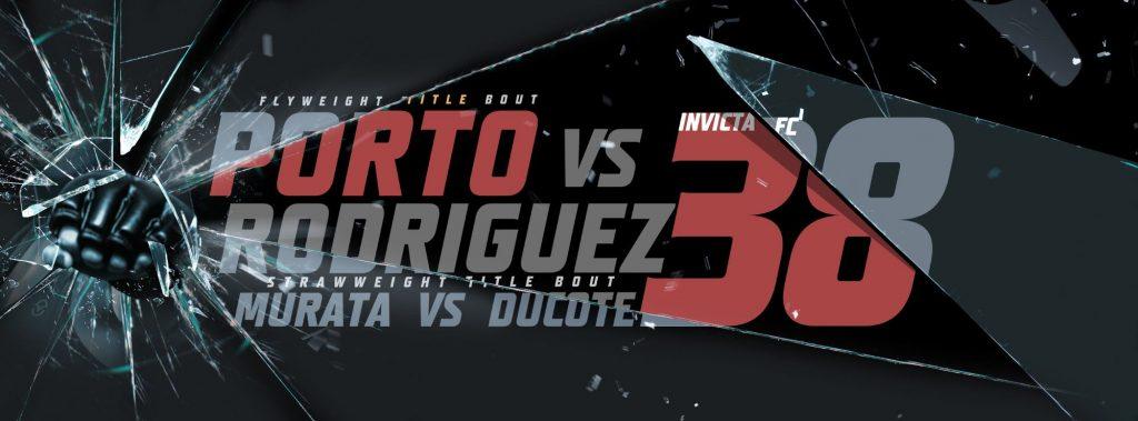 Invicta FC 38 results - Murata vs. Ducote, Porto vs. Rodriguez - 2 titles on line