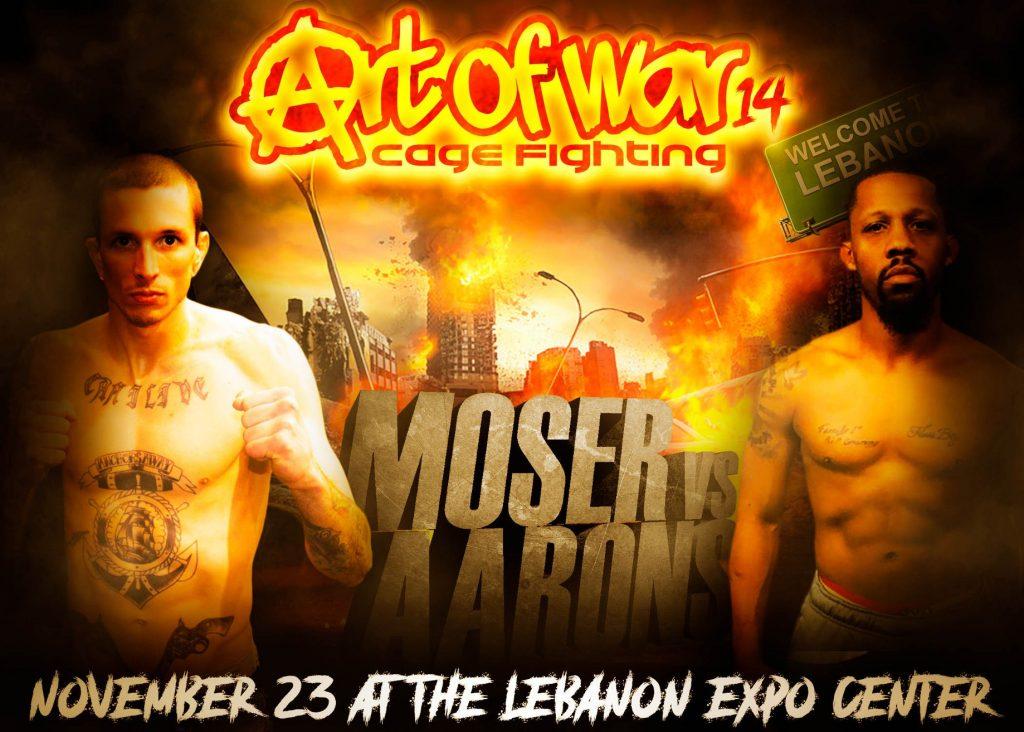 Art of War 14 Results - Ben Moser vs. Josh Aarons