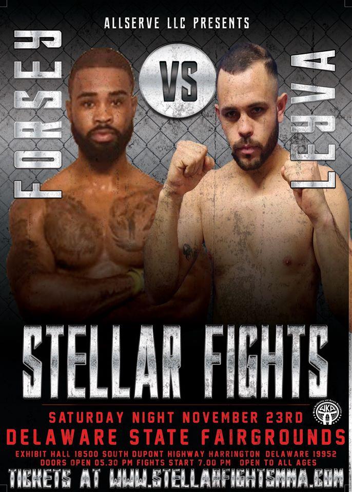 Stellar Fights 44, Keenan Forsey