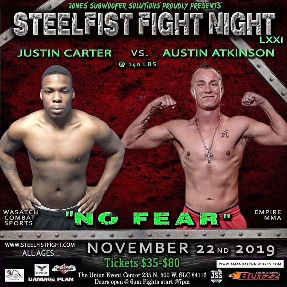 Justin Carter, Steel Fist Fight Night