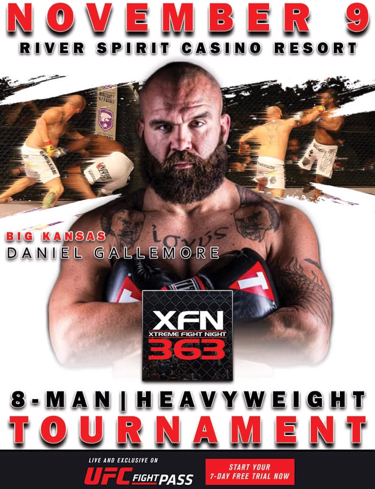Daniel Gallemore, XFN 363, UFC Fight Pass