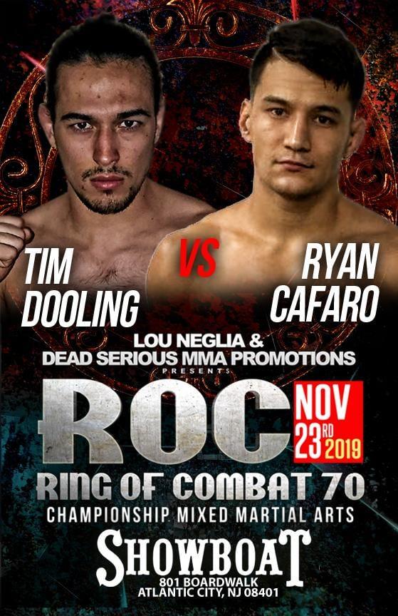 ROC 70, Ryan Kim Cafaro, Tim Dooling
