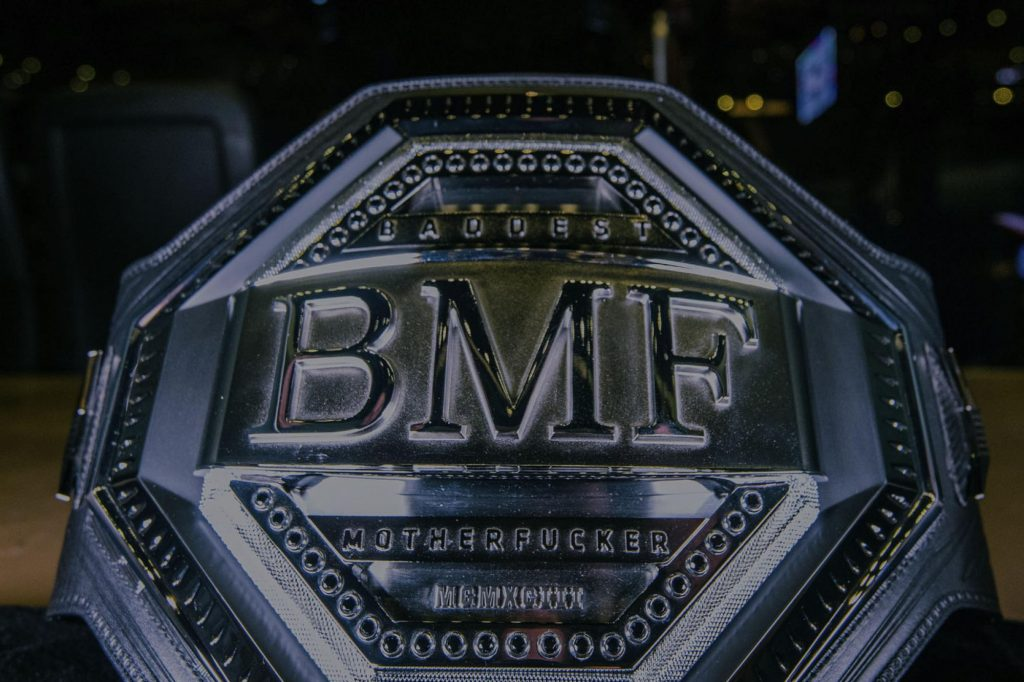 BMF title, UFC 244