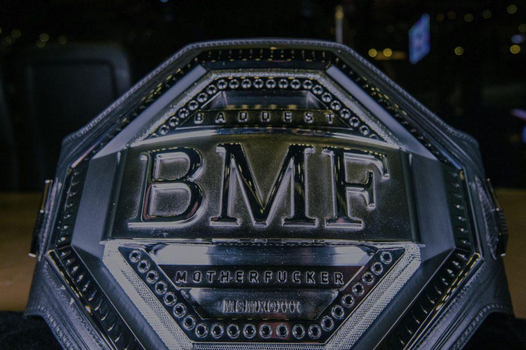 BMF title, UFC 244