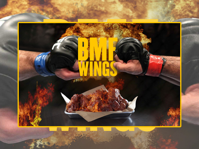 Buffalo Wild Wings BMF Wings Review - UFC 244