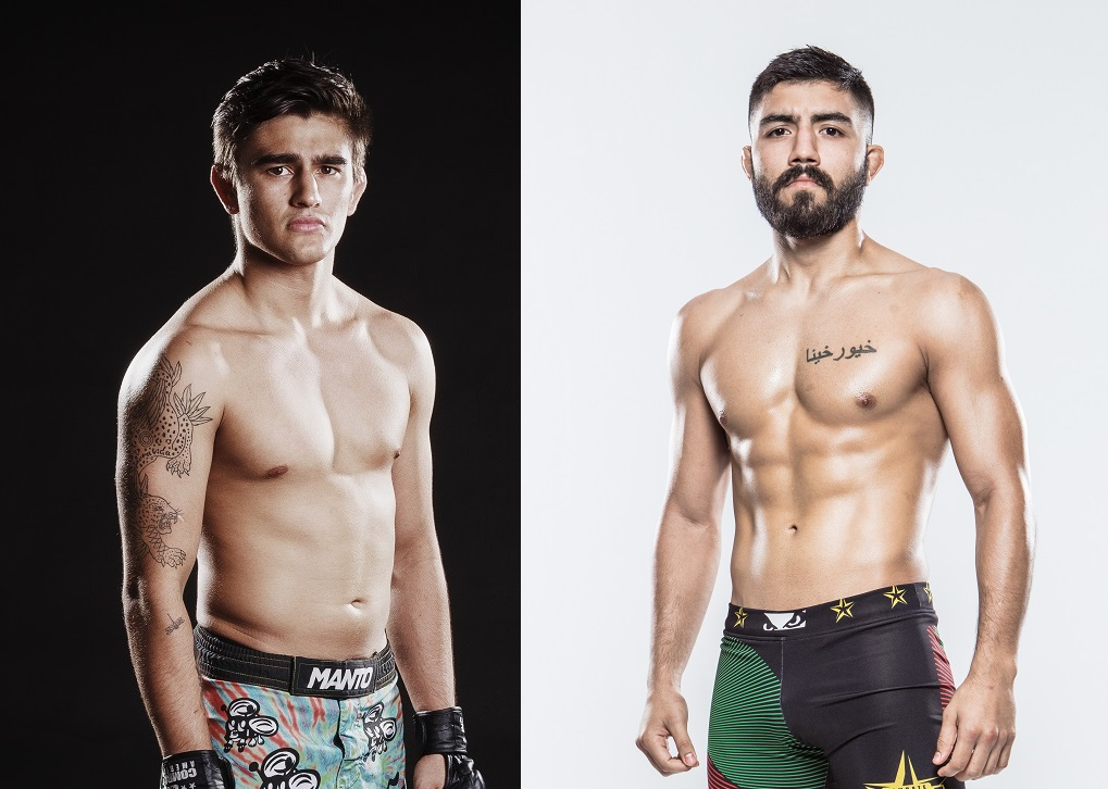 Andre Barquero and Eduardo Alvarado Osuna now headline Combate Americas card