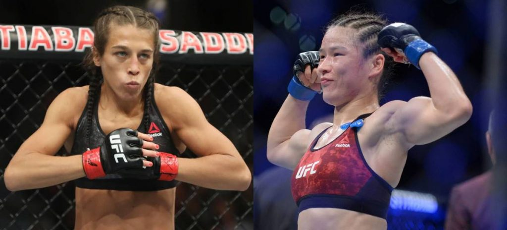 Joanna Jedrzejczyk, UFC 248, Weili Zhang
