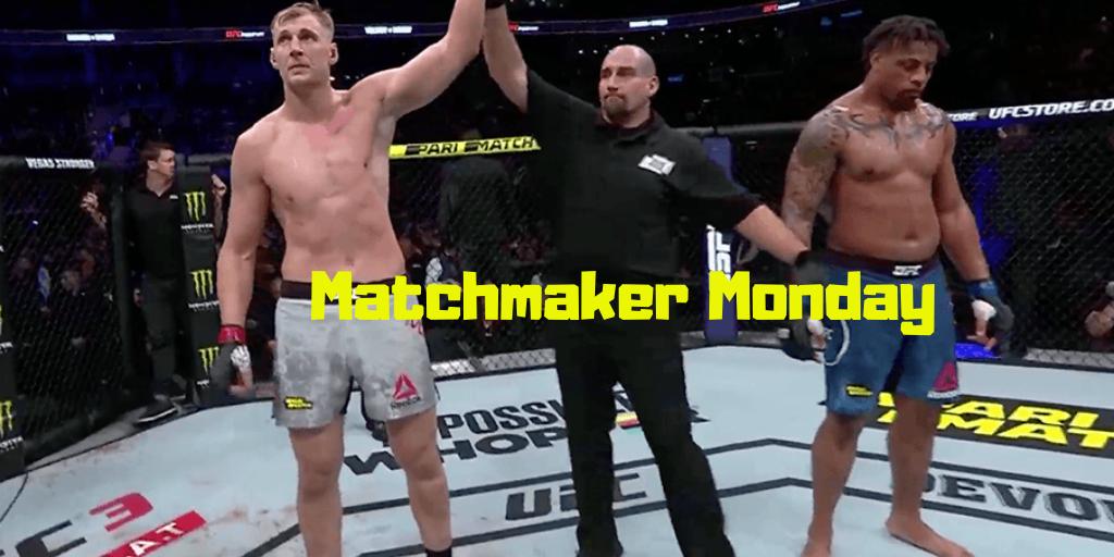 Matchmaker Monday following UFC Moscow