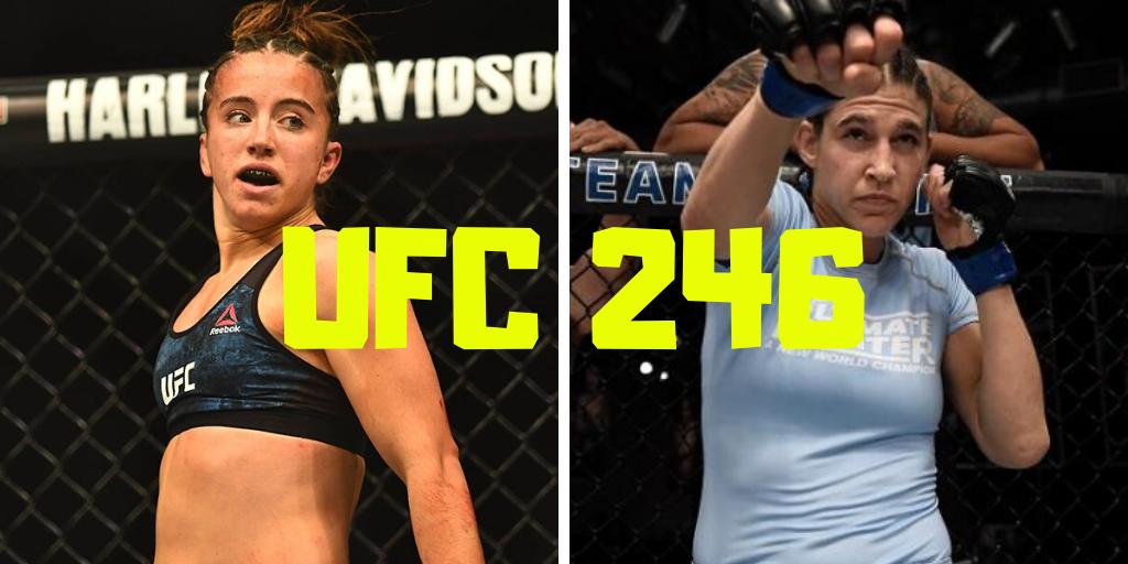Maycee Barber vs. Roxanne Modafferi set for UFC 246