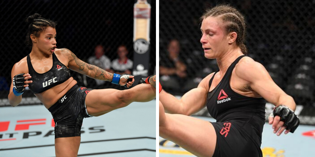 Brianna Van Buren meets Hannah Cifers at UFC Raleigh