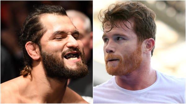 Will Jorge Masvidal get to fight boxing champion Canelo Alvarez?