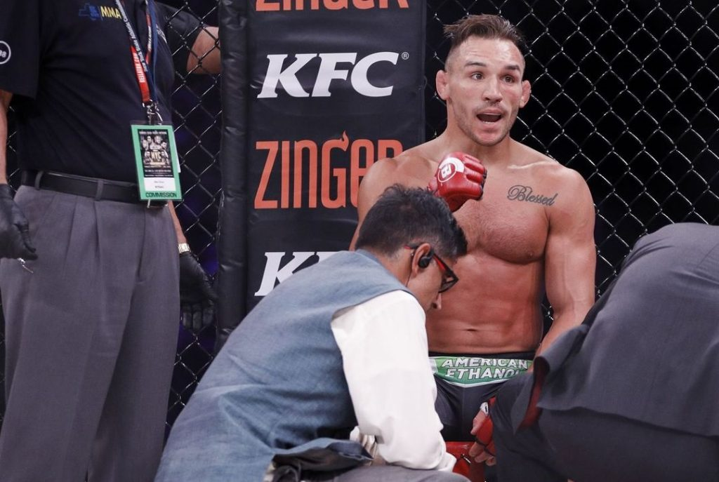 Michael Chandler Sympathizes With Nate Diaz After UFC 244