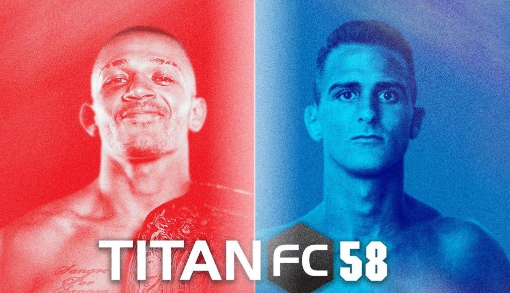 titan fc, titan fc 58