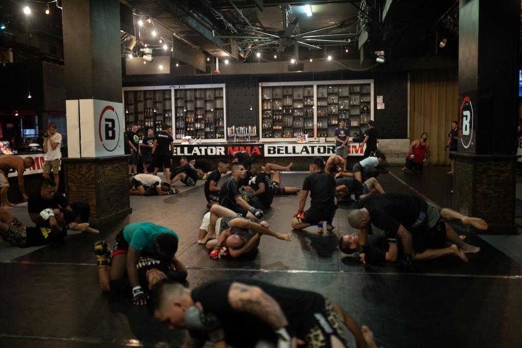 Honolulu, Bellator tryouts