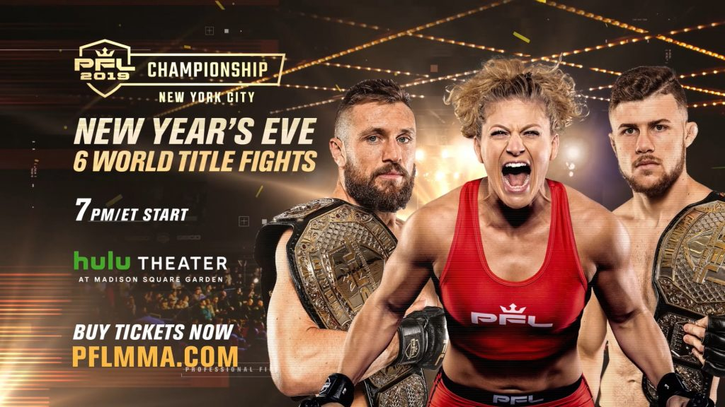 PFL 2019 Championship Live Results From NYC