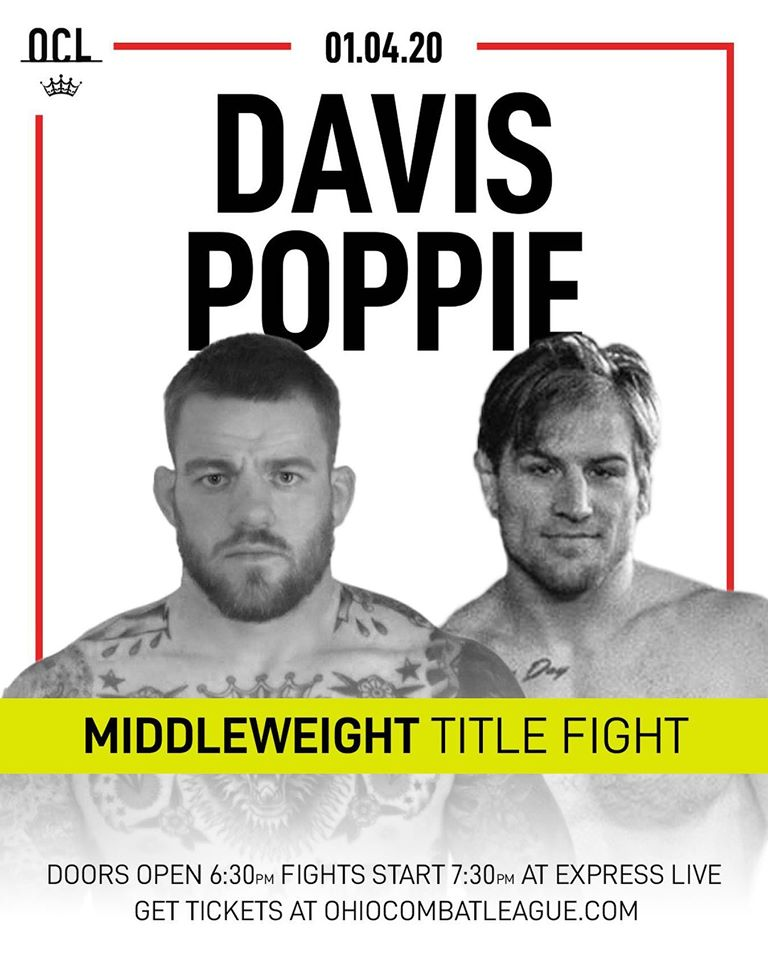 Travis Davis vs John Poppiest, Ohio Combat League