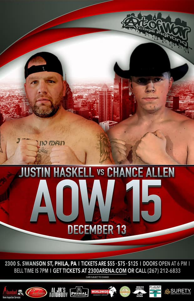 Justin Haskell, AOW 15