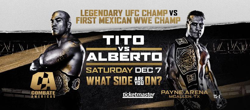 Tito Ortiz vs. Alberto 'El Patron' Rodriguez Results - Combate Americas