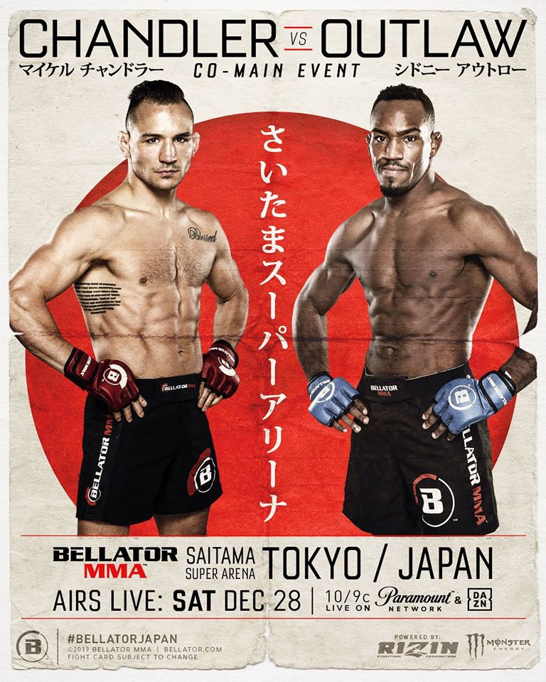 Bellator Japan, Sidney Outlaw, Michael Chandler