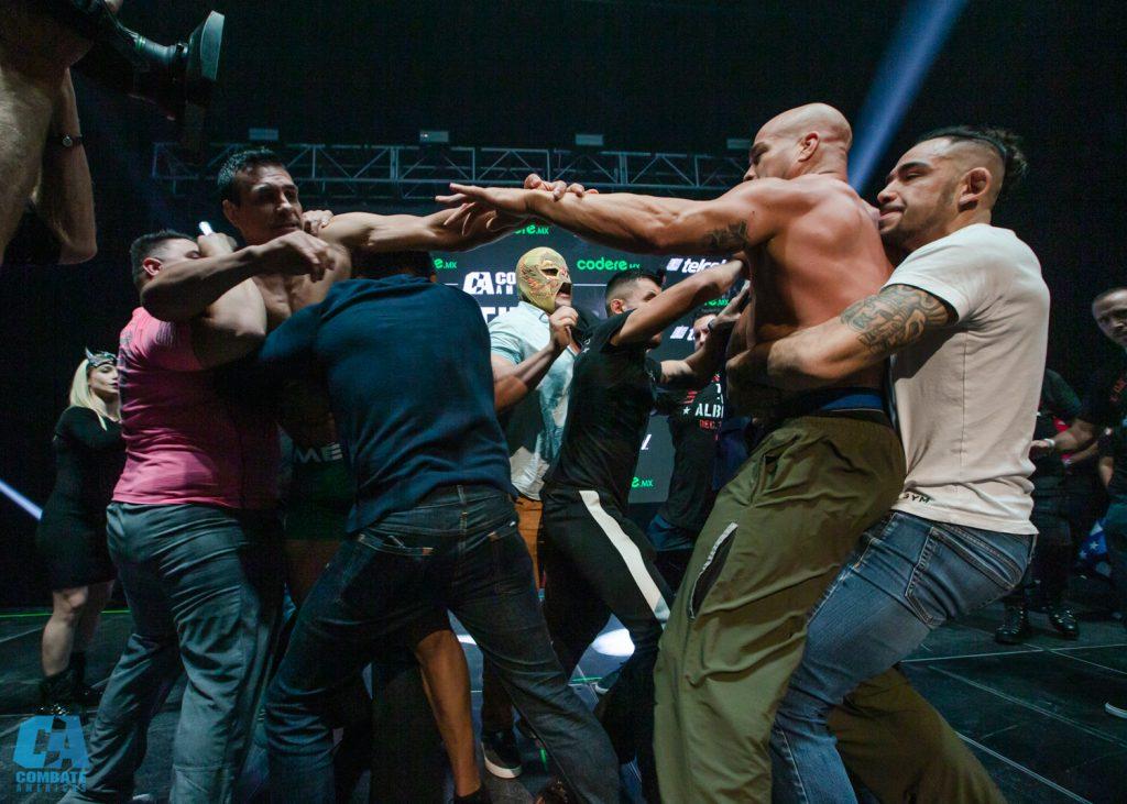Combate Hidalgo weigh-in results - Tito Ortiz vs. El Patrón
