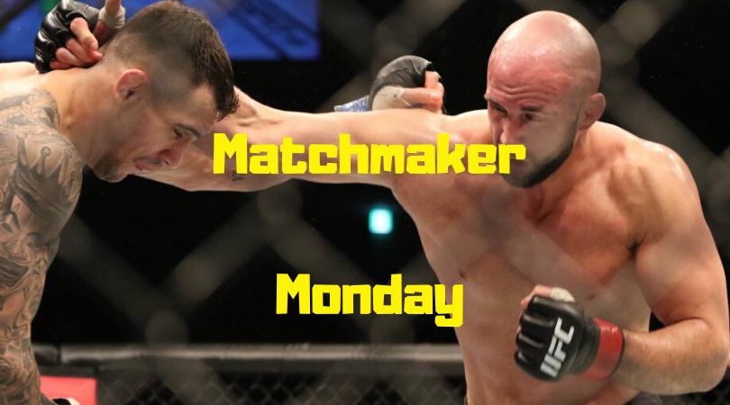 UFC Busan, Matchmaker Monday