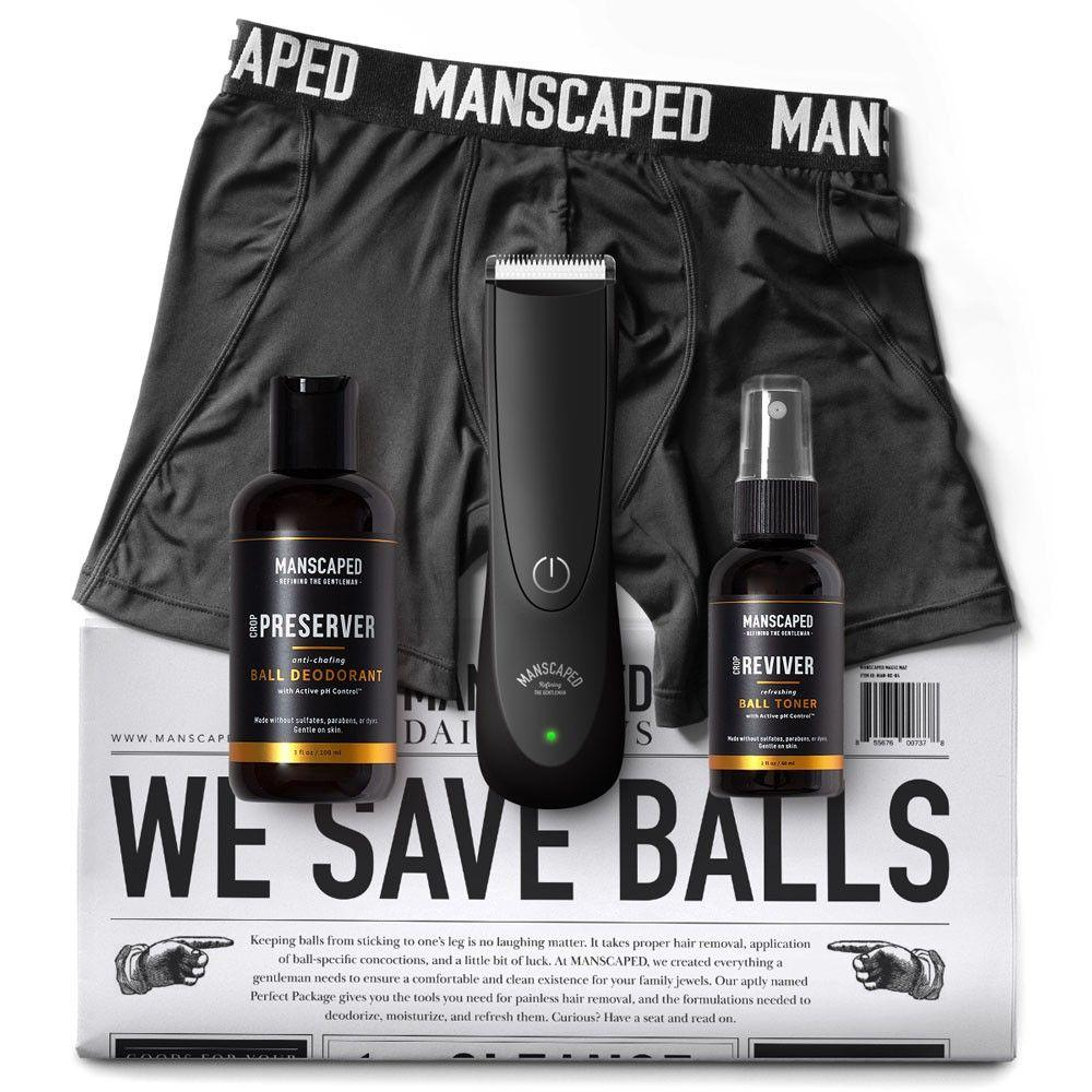 Manscaped, manscaping