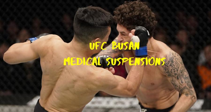 UFC Busan medical suspensions, Edgar given 180 days