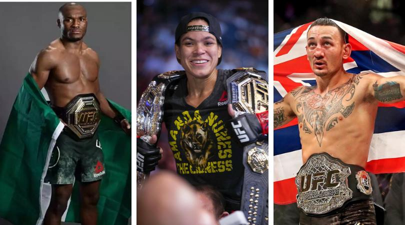 UFC 245, Amanda Nunes, Max Holloway, Kamaru Usman