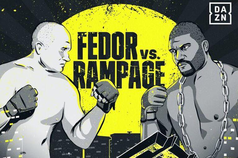 Bellator 237 results - Fedor vs. 'Rampage' Jackson