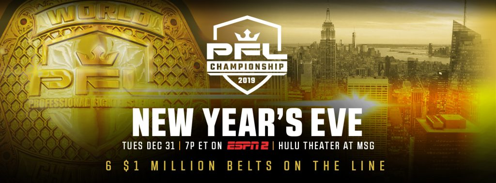 PFL Championships alternate fighters list announced