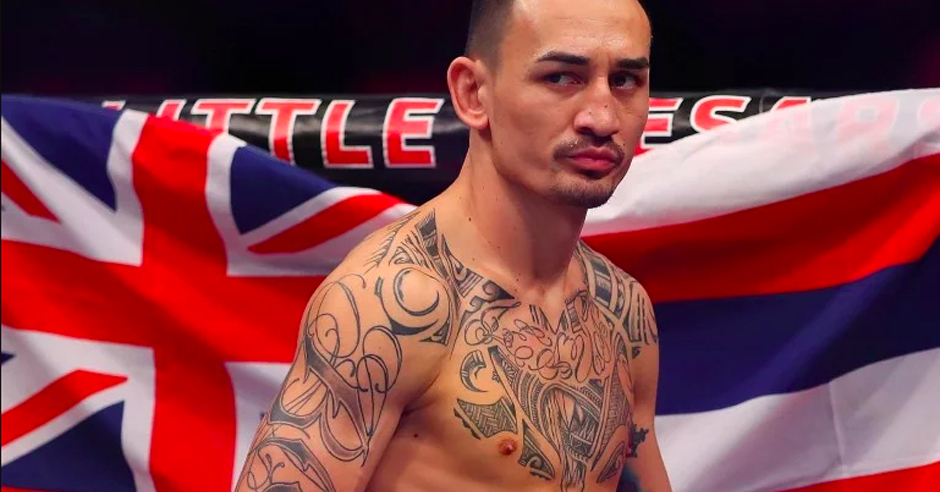 Max Holloway handles loss like a class act