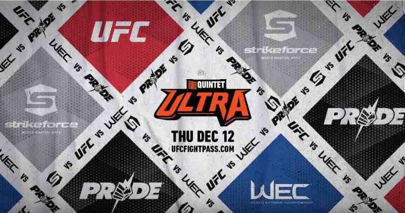 Quintet Ultra Live Results - UFC vs. Strikeforce vs. WEC vs. Pride
