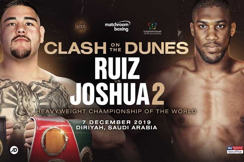 Ruiz Jr. vs. Joshua 2 results