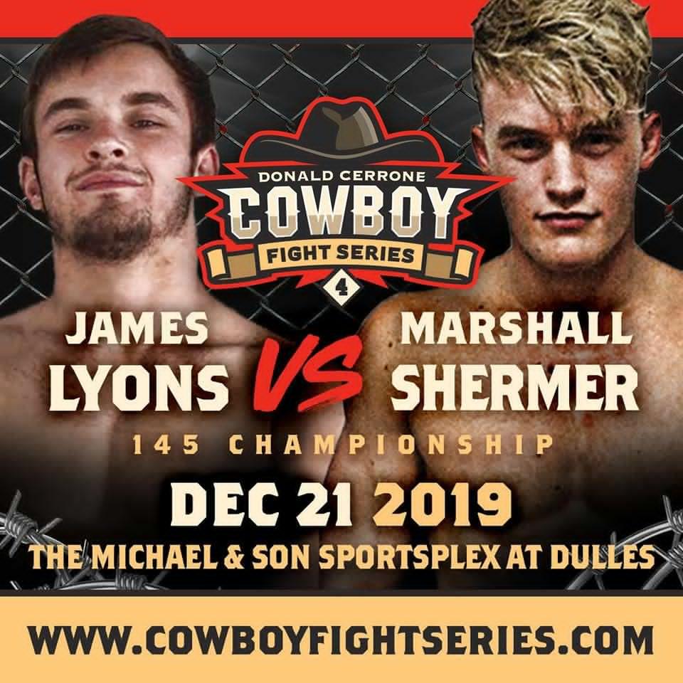 Marshall Shermer, James Lyons, Cowboy Fight Series