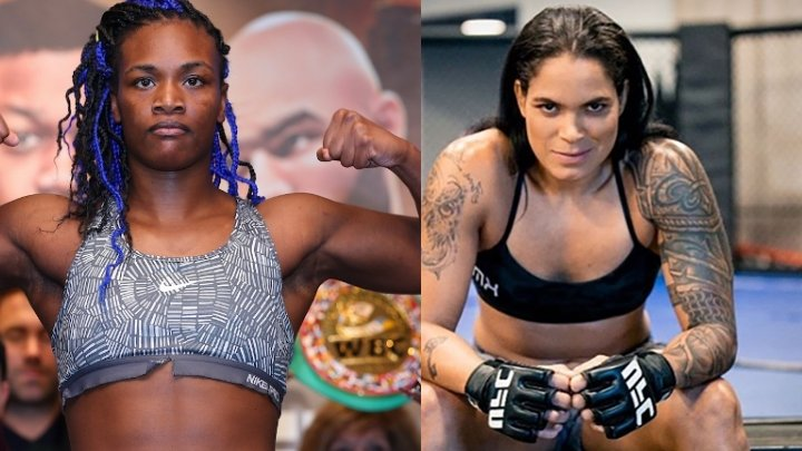 Amanda Nunes tells Claressa Shields if they fight: 'I'm gonna wrestle the s*it out of you'