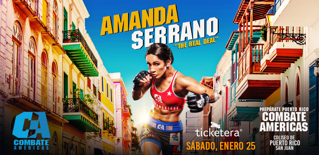 Boxing star Amanda Serrano to make MMA debut with Combate Americas in Puerto Rico