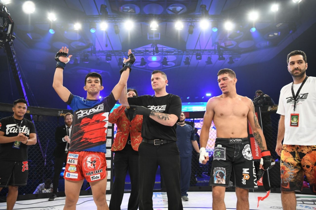 Jeremy Pacatiw marks historic occasion with KO victory at BRAVE CF 33