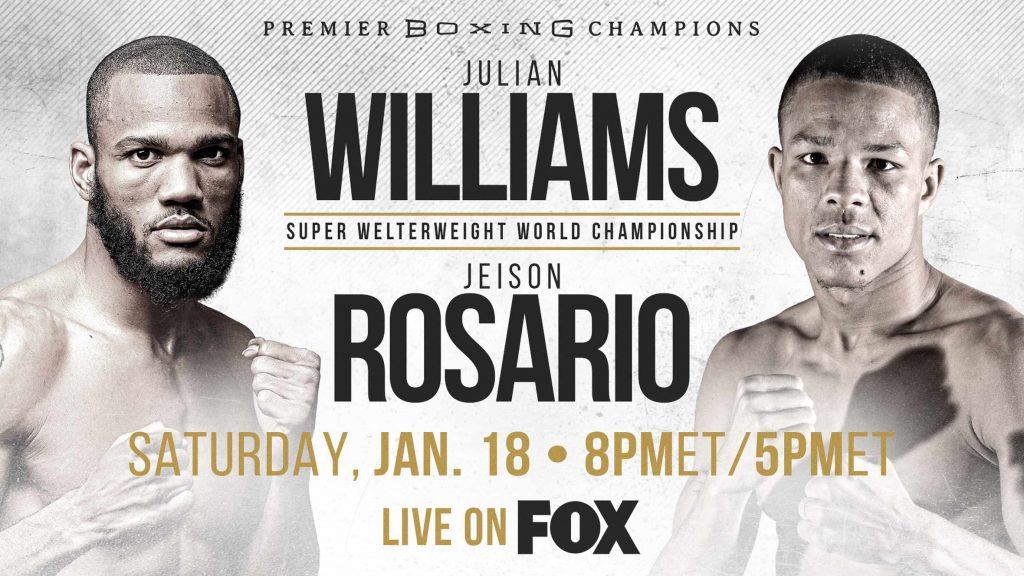 Julian Williams vs. Jeison Rosario