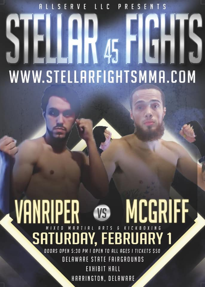 Jamar McGriff, Stellar Fights 45