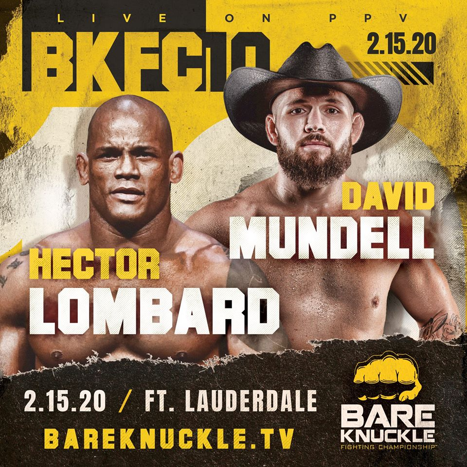 BKFC 10, David Mundell, Hector Lombard
