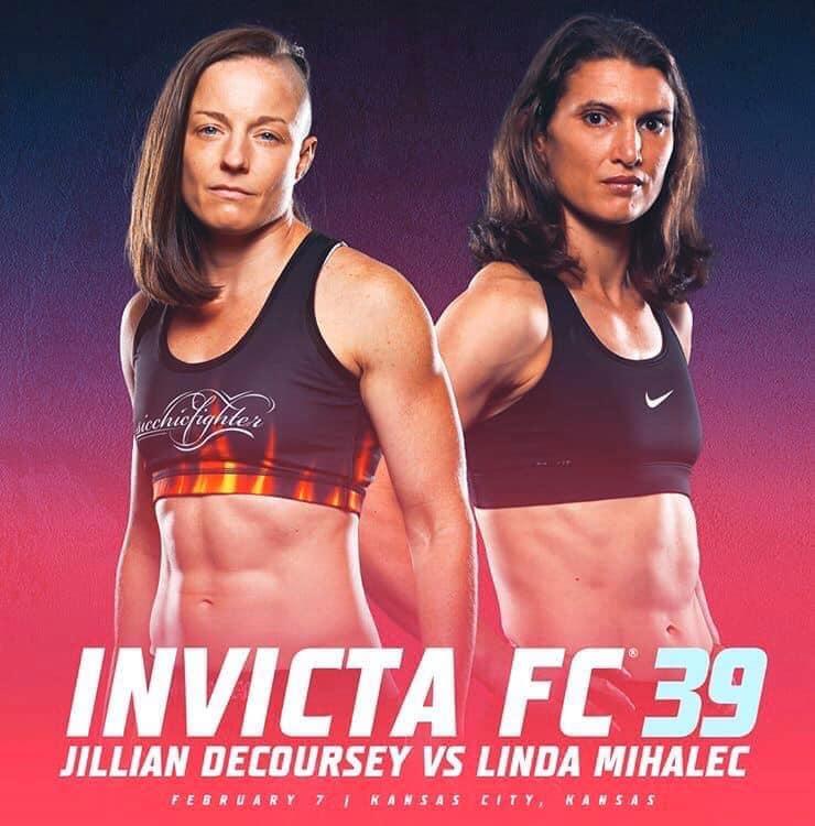 Invicta FC 39, Jillian DeCoursey, Linda Mihalec