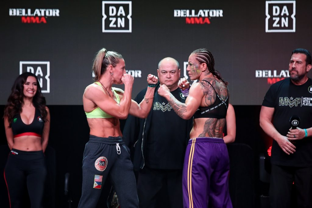 Bellator 238 weigh-in results - Julia Budd vs. Cris Cyborg