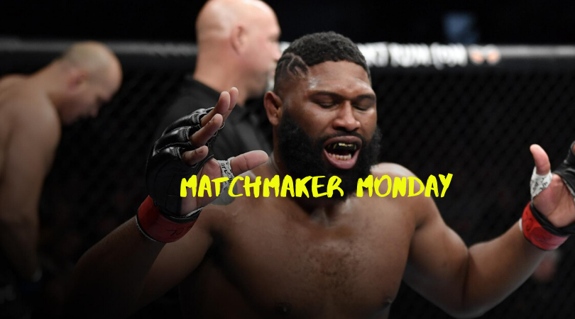 UFC Raleigh, Matchmaker Monday