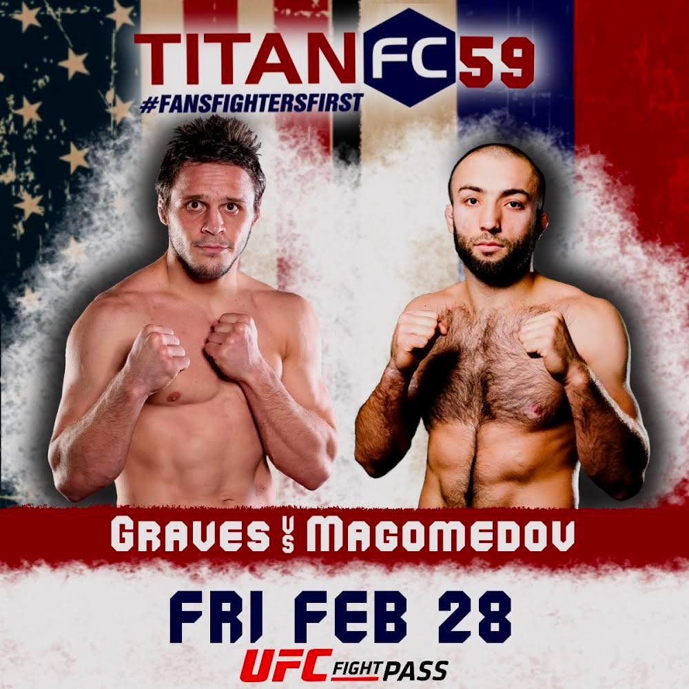 Titan FC 59, Michael Graves, Kamal Magomedov